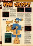 Scan of the walkthrough of Quake published in the magazine 64 Solutions 05, page 21