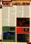 Scan of the walkthrough of Quake published in the magazine 64 Solutions 05, page 23