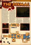 Scan of the walkthrough of Quake published in the magazine 64 Solutions 05, page 25