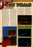 Scan of the walkthrough of Quake published in the magazine 64 Solutions 05, page 33