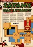 Scan of the walkthrough of Quake published in the magazine 64 Solutions 05, page 35