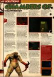 Scan of the walkthrough of Quake published in the magazine 64 Solutions 05, page 37