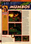 Scan of the walkthrough of Banjo-Kazooie published in the magazine 64 Solutions 06, page 11