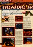 Scan of the walkthrough of Banjo-Kazooie published in the magazine 64 Solutions 06, page 13