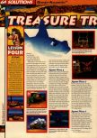 Scan of the walkthrough of Banjo-Kazooie published in the magazine 64 Solutions 06, page 15