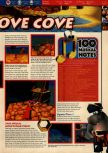 Scan of the walkthrough of Banjo-Kazooie published in the magazine 64 Solutions 06, page 16
