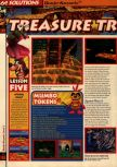 Scan of the walkthrough of Banjo-Kazooie published in the magazine 64 Solutions 06, page 17