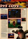 Scan of the walkthrough of Banjo-Kazooie published in the magazine 64 Solutions 06, page 18