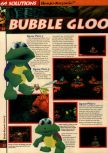 Scan of the walkthrough of Banjo-Kazooie published in the magazine 64 Solutions 06, page 27