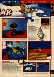 Scan of the walkthrough of Banjo-Kazooie published in the magazine 64 Solutions 06, page 34
