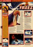 Scan of the walkthrough of Banjo-Kazooie published in the magazine 64 Solutions 06, page 35