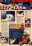 Scan of the walkthrough of Banjo-Kazooie published in the magazine 64 Solutions 06, page 36