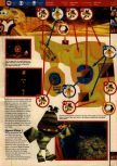Scan of the walkthrough of Banjo-Kazooie published in the magazine 64 Solutions 06, page 38