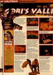 Scan of the walkthrough of Banjo-Kazooie published in the magazine 64 Solutions 06, page 41
