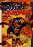 Scan of the walkthrough of Banjo-Kazooie published in the magazine 64 Solutions 06, page 1