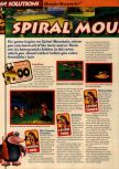 Scan of the walkthrough of Banjo-Kazooie published in the magazine 64 Solutions 06, page 3