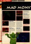 Scan of the walkthrough of Banjo-Kazooie published in the magazine 64 Solutions 07, page 5