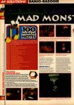 Scan of the walkthrough of Banjo-Kazooie published in the magazine 64 Solutions 07, page 7