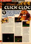 Scan of the walkthrough of Banjo-Kazooie published in the magazine 64 Solutions 07, page 15