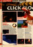 Scan of the walkthrough of Banjo-Kazooie published in the magazine 64 Solutions 07, page 17