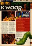 Scan of the walkthrough of Banjo-Kazooie published in the magazine 64 Solutions 07, page 18