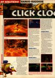Scan of the walkthrough of Banjo-Kazooie published in the magazine 64 Solutions 07, page 19
