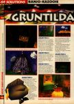 Scan of the walkthrough of Banjo-Kazooie published in the magazine 64 Solutions 07, page 23