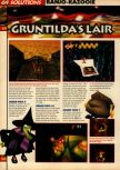 Scan of the walkthrough of Banjo-Kazooie published in the magazine 64 Solutions 07, page 25
