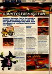 Scan of the walkthrough of Banjo-Kazooie published in the magazine 64 Solutions 07, page 26