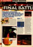 Scan of the walkthrough of Banjo-Kazooie published in the magazine 64 Solutions 07, page 27