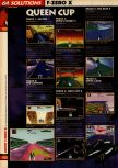 Scan of the walkthrough of F-Zero X published in the magazine 64 Solutions 08, page 3
