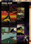 Scan of the walkthrough of F-Zero X published in the magazine 64 Solutions 08, page 4