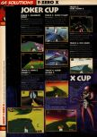 Scan of the walkthrough of F-Zero X published in the magazine 64 Solutions 08, page 5