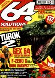 Cover scan of magazine 64 Solutions  08