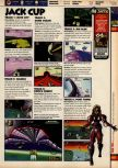 Scan of the walkthrough of F-Zero X published in the magazine 64 Solutions 08, page 2