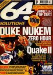 Cover scan of magazine 64 Solutions  13