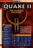 Scan of the walkthrough of Quake II published in the magazine 64 Solutions 13, page 1