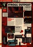 Scan of the walkthrough of Quake II published in the magazine 64 Solutions 13, page 3