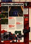Scan of the walkthrough of Quake II published in the magazine 64 Solutions 13, page 4