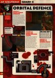 Scan of the walkthrough of Quake II published in the magazine 64 Solutions 13, page 7