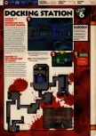 Scan of the walkthrough of Quake II published in the magazine 64 Solutions 13, page 8