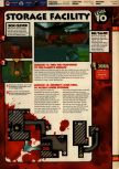 Scan of the walkthrough of Quake II published in the magazine 64 Solutions 13, page 12