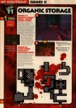 Scan of the walkthrough of Quake II published in the magazine 64 Solutions 13, page 13