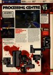 Scan of the walkthrough of Quake II published in the magazine 64 Solutions 13, page 14