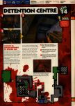 Scan of the walkthrough of Quake II published in the magazine 64 Solutions 13, page 16