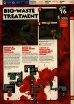Scan of the walkthrough of Quake II published in the magazine 64 Solutions 13, page 18
