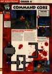 Scan of the walkthrough of Quake II published in the magazine 64 Solutions 13, page 21