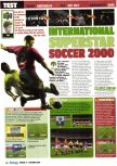 Scan of the review of International Superstar Soccer 2000 published in the magazine Consoles Max 14