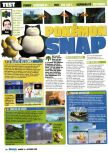 Scan of the review of Pokemon Snap published in the magazine Consoles Max 14