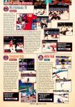Scan of the preview of NHL Breakaway 98 published in the magazine GamePro 114, page 1